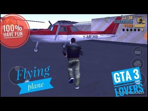 GTA 3 : Flying plane dodo