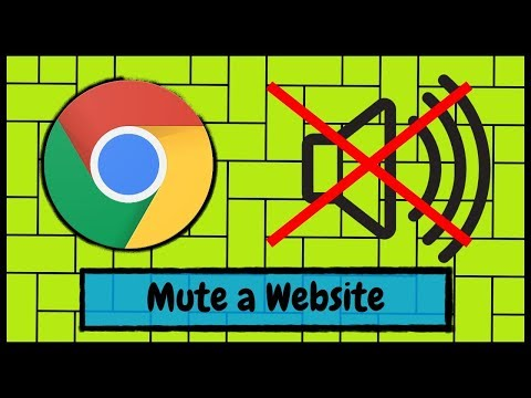 How to Mute the Sound from a Website When Using Google Chrome