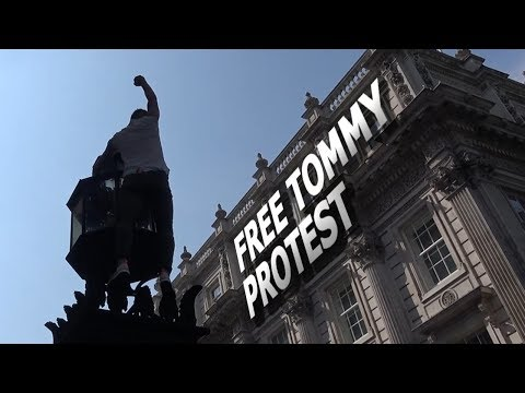 Free Tommy Protest