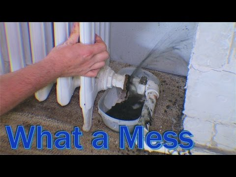 Removing radiator from my central heating system - 201
