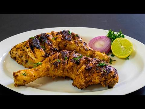 Tandoori Chicken (Without Oven or Tandoor)