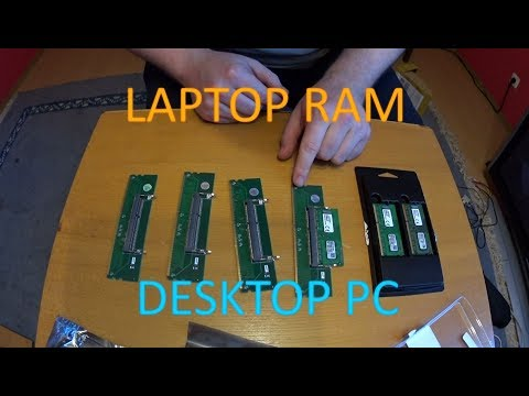 Laptop RAM in Desktop PC nutzen? Na Klar!