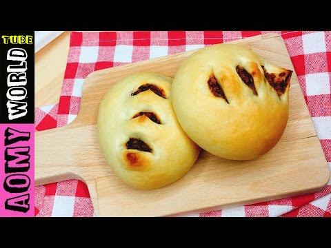 Spicy Flossy Pork Buns | Soft Pork Floss Bread | Milk Bread | Dinner Rolls | BAKE AT HOME | YUMMY ❤