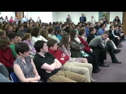 Career Tech Students Learn About Work Ethic