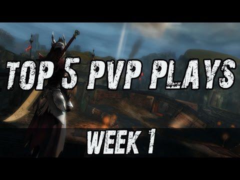 GW2 Top 5 PvP Plays Week 1
