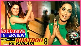 Hina Khan EXCLUSIVE INTERVIEW | Khatron Ke Khiladi Season 8 | Pain In Spain | TellyMasala