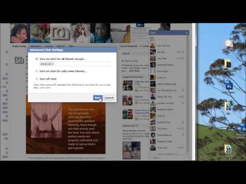 Tutorial: How to Appear Offline or Online to Some Friends on Facebook Chat