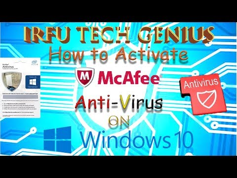 how to activate mcafee anti-virus on pc in [hindi-urdu]