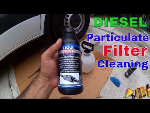 Mercedes Sprinter Diesel Particulate Filter Cleaning DIY Ligui Moly Pro-Line