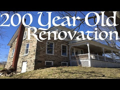 211 Year old Renovation - Entryway  Demo