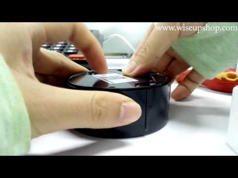 WISEUP HD Wifi Network Spy Camera Hook Operation Instruction and Demo (Model Number: WIFI30)