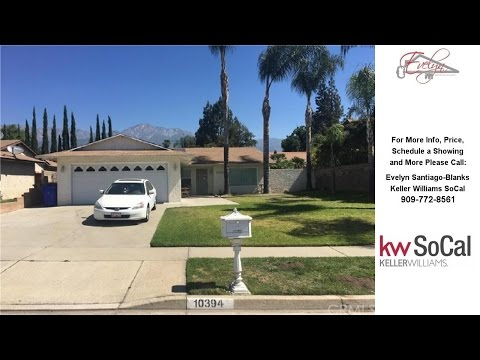 10394 Ironwood Street, Rancho Cucamonga, CA Presented by Evelyn Santiago-Blanks.
