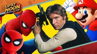 Spider-Man Homecoming Toys, Han Solo Movie Worries & Nintendo Switch - Up At Noon Live!