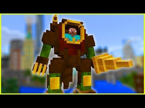 Minecraft PE Addons - STEAMPUNK ROBOT SUIT - MCPE 1.2.11 / 1.2