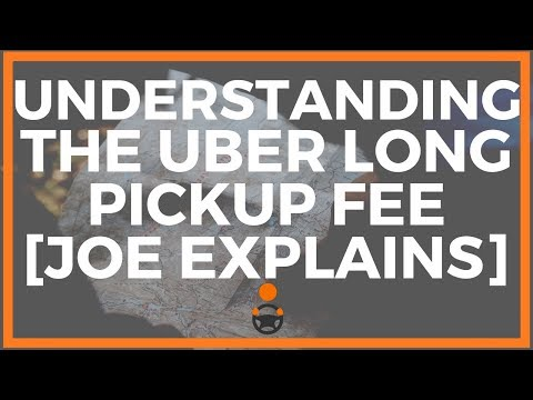 Understanding The Uber Long Pickup Fee [aka Pickup Premium Likely]