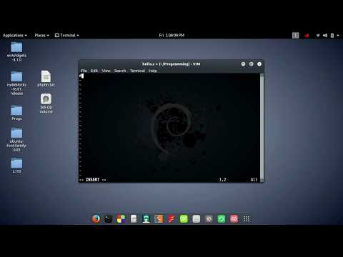 C Programming with Vim editor in Kali Linux(for dummies).