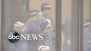 London flight placed on lockdown after passenger shows symptoms of coronavirus