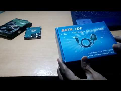 USB to SATA/IDE (2.5 / 3.5 / 5.25')adapter and cables for Laptop & desktop Hard Disk