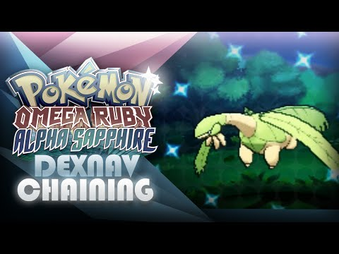 Pokemon ORAS: DexNav Shiny Pokemon Chaining Guide! - Mootypwns