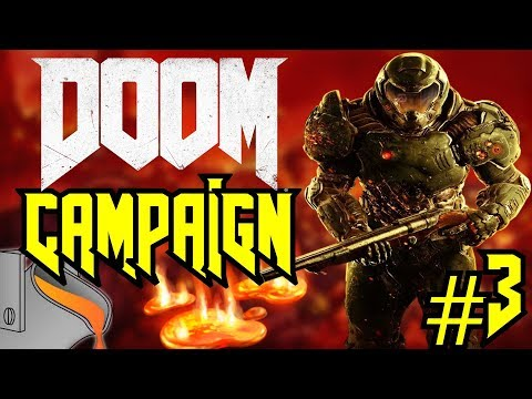 Doom   SAVING THE FOUNDRY FROM A MELTDOWN! - Single Player Campaign #3