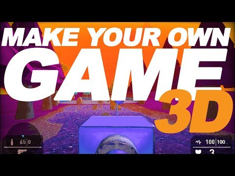 How to make 3D Games for beginners (no coding)