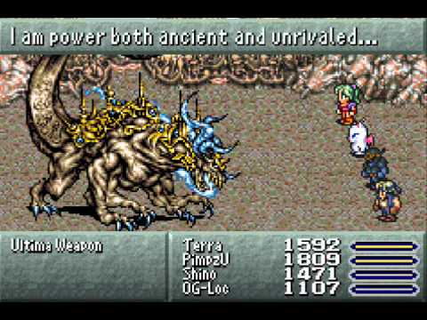 Final Fantasy 6 Part 47: Ultima Weapon