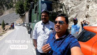 Srinagar to Zoji La Pass via NH 1, INB Trip EP #61