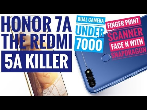 Honor 7A The Real Redmi 5A Killer, Honor's first phone with snapdragon processor