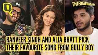 Ranveer Singh and Alia Bhatt on