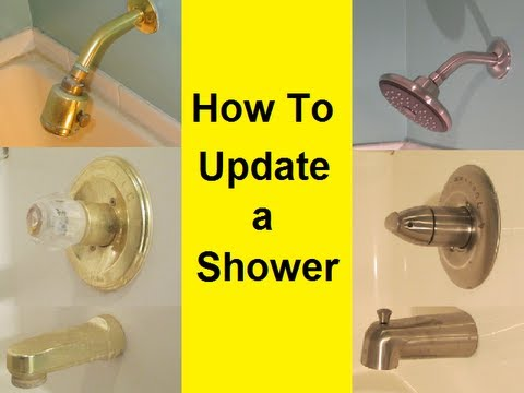 How To Update a Shower (HowToLou.com)