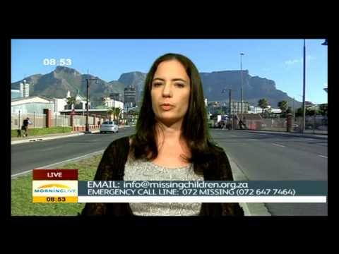 A child goes missing every six hours in SA.