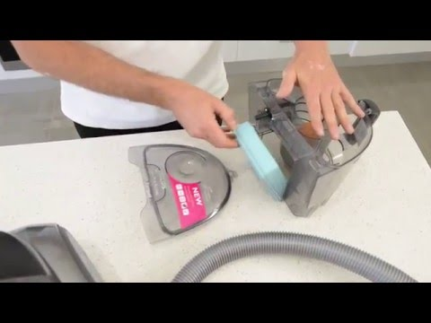 How to clean filters in bagless vacuum cleaner_Spoiler