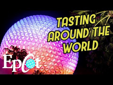 WDW Trip Day 2 | Tasting Around the World at Epcot