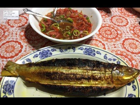Delicious Grilled Stuffed Milkfish (Ikan Terubuk - Bangús Baulu Bakar): Exotic Recipe & How To Cook