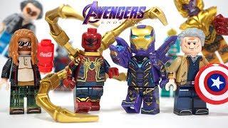 Download Lego Avengers Endgame Final Battle Thanos Pepper Potts Fat Thor Unofficial Minifigures Video