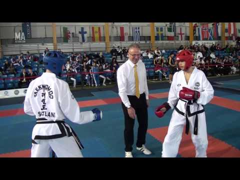 What to look for on 'points' sparring