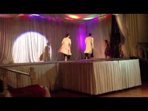 Shontel Singh with Desi Dancers