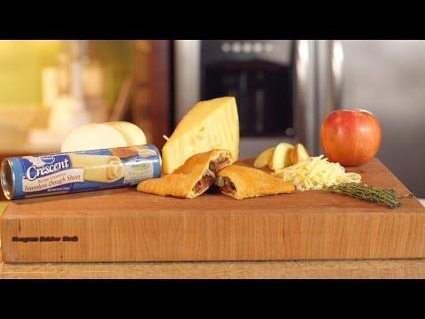 Pillsbury: Hot Ham Pockets with Apple & Onion Jam