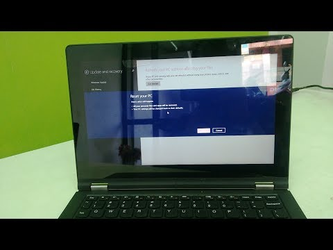 How to Factory Reset/Reinstall Windows in Windows RT Laptop/Tablet-Hindi