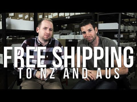 FREE SHIPPING to AUS and NZ