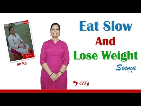 Why Slow Eating is SO Important for Weight Loss – By Seema [Hindi]