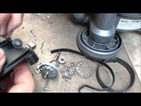 Replace the Clutch Belts Dyson DC07 DC14 or DC33 video