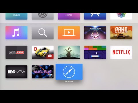 How to install a web browser on Apple TV