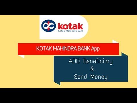 Add Beneficiary & Send Money Through Kotak Mahindra bank Application
