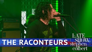 Download The Raconteurs Perform 'Bored And Razed' Video