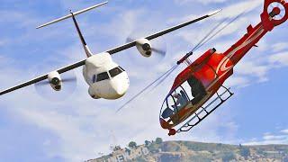 Crash in the Skies Over Los Santos | GTA 5 Short film