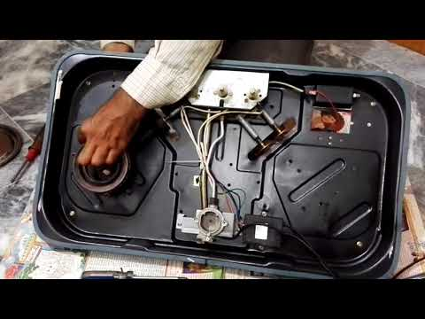 How to repair automatic glass hob | clean glass hob