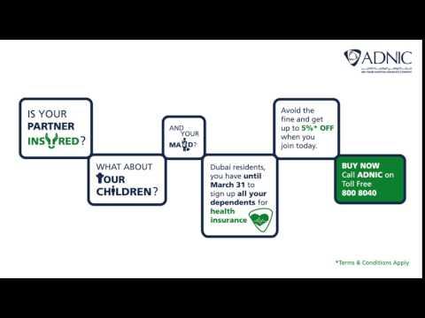 ADNIC Health Insurance for Dubai residents