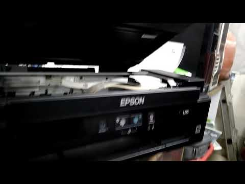 Epson l220. Change ink pad and install