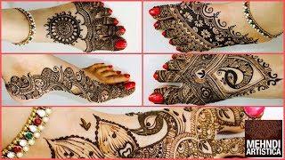 Five Star Henna Mehndi Designs For Karwa Chauth   Mind Blowing Dulhan Shagun Henna Mehendi